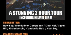 Breathtaking 2 Hour Harley Davidson Chauffeur Tour @R1000 per person
